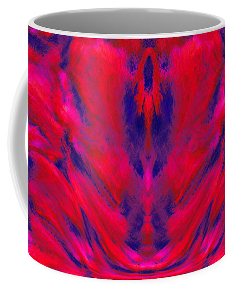 Sacred Light Coffee Mug featuring the digital art Sacred Light - 1400 by Artistic Mystic