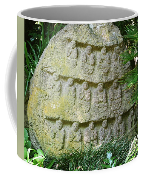 Stone Coffee Mug featuring the photograph Sacred Stone by Dean Triolo