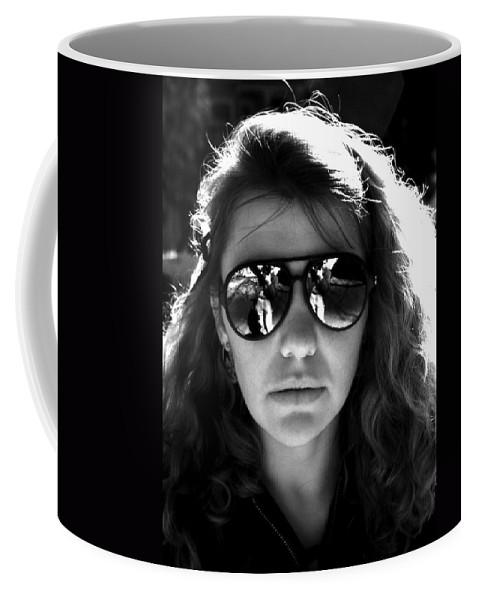 Portrait Coffee Mug featuring the photograph Sacto Woman by Lee Santa