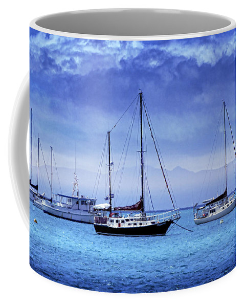 Landscapes Coffee Mug featuring the photograph Safe Harbor by Holly Kempe