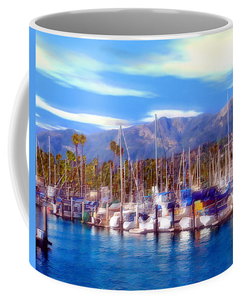 Charbor Coffee Mug featuring the photograph Safe Haven by Kurt Van Wagner