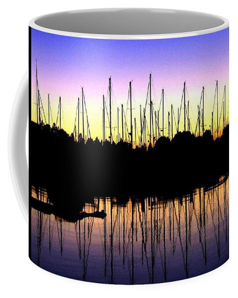 Sailboats Coffee Mug featuring the photograph Safe Haven by Will Borden
