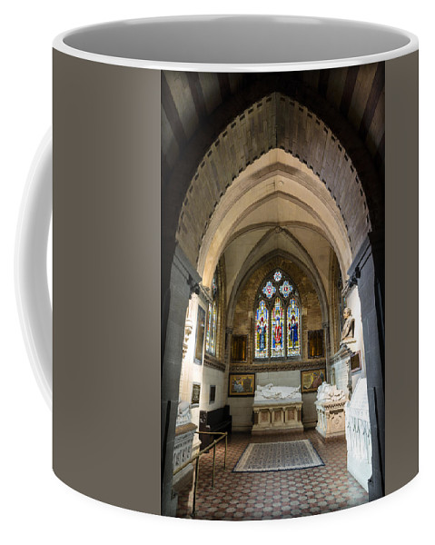 Sage Chapel Coffee Mug featuring the photograph Sage Chapel Memorial Room by Stephen Stookey