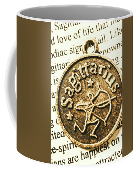 Sagittarius Coffee Mug featuring the photograph Sagittarius Astrology Design by Jorgo Photography - Wall Art Gallery