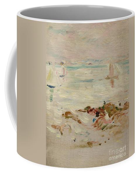 Sailboats Coffee Mug featuring the painting Sailboats by Berthe Morisot
