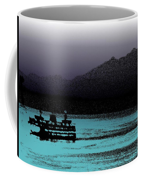 Seattle Coffee Mug featuring the photograph Sailin The Sound 2 by Tim Allen