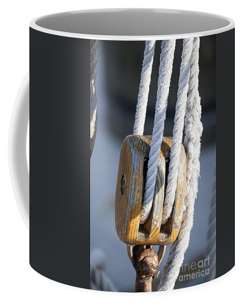 Sailing Block Coffee Mug featuring the photograph Sailing Block by Elena Elisseeva