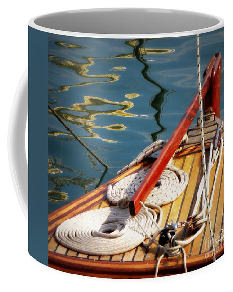 Sailing Coffee Mug featuring the photograph Sailing Dories 4 by Lainie Wrightson
