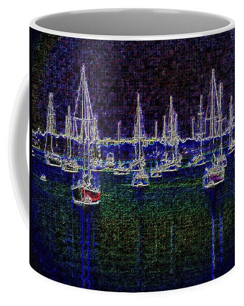 Sail Coffee Mug featuring the photograph Sails At Sunrise by Tim Allen