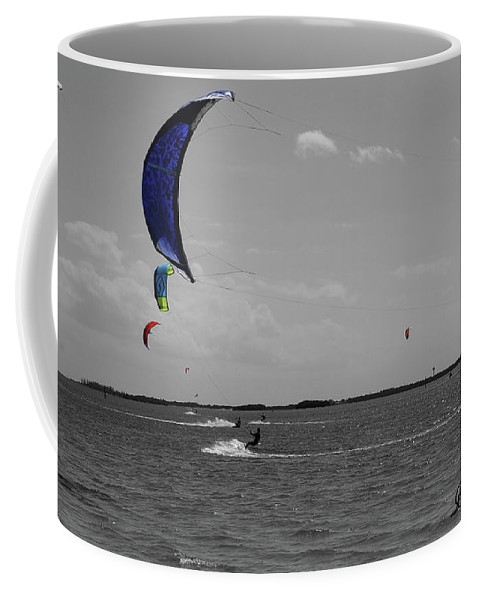 Art Coffee Mug featuring the photograph Sails In Color by Bradley Dever