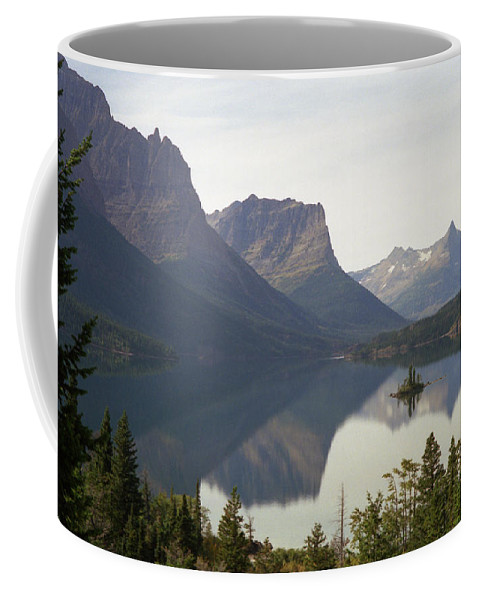 Lake Coffee Mug featuring the photograph Saint Marys Lake by Richard Rizzo