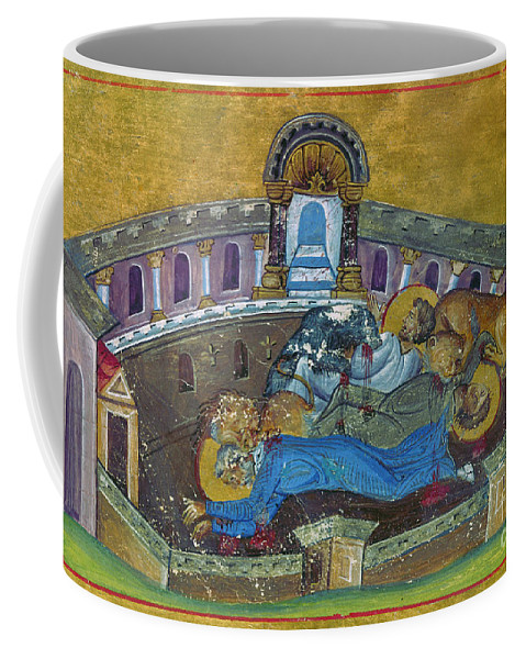 10th Century Coffee Mug featuring the painting Saint Silvanus Of Emesa by Granger