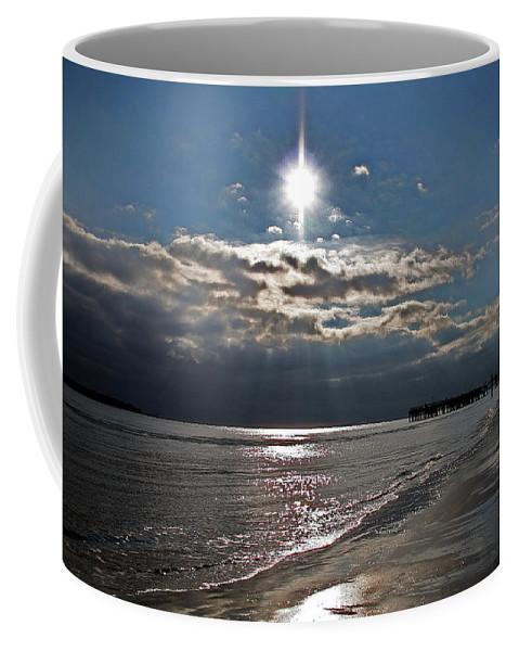 Water Coffee Mug featuring the photograph Saint Simons Island by David Campbell