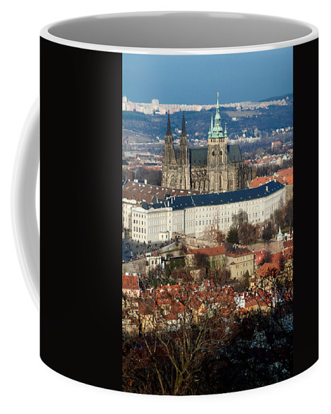 Lawrence Coffee Mug featuring the photograph Saint Vitus Cathedral 1 by Lawrence Boothby