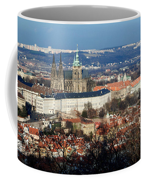 Lawrence Coffee Mug featuring the photograph Saint Vitus Cathedral 2 by Lawrence Boothby