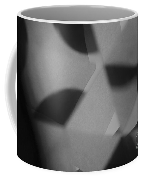 Abstract Coffee Mug featuring the photograph Sake by Alwyn Glasgow