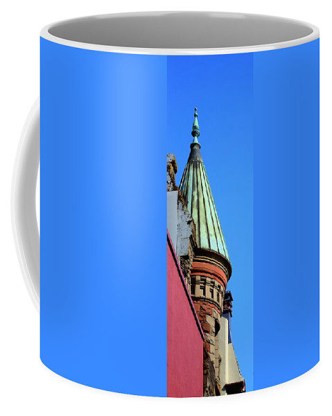 Oregon Coffee Mug featuring the photograph Salem Architecture 3874 by Jerry Sodorff