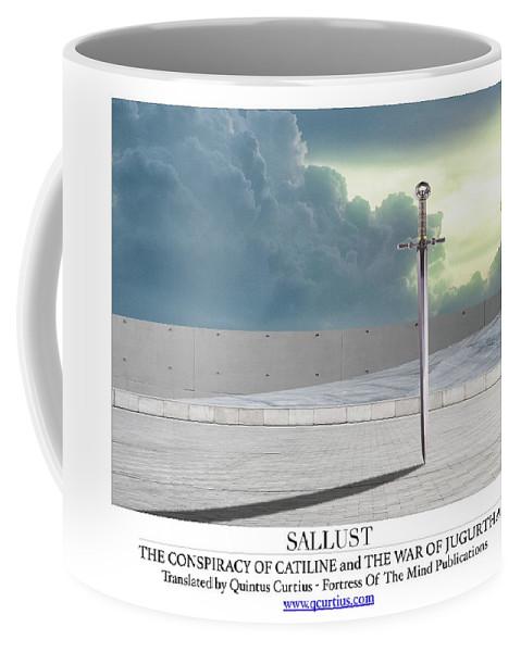 Sallust Coffee Mug featuring the digital art Sallust by Quintus Curtius