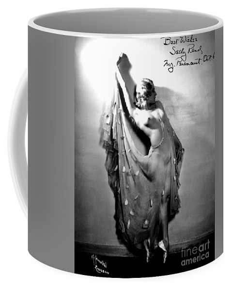 1933 Coffee Mug featuring the painting Sally Rand (1904-1979) by Granger