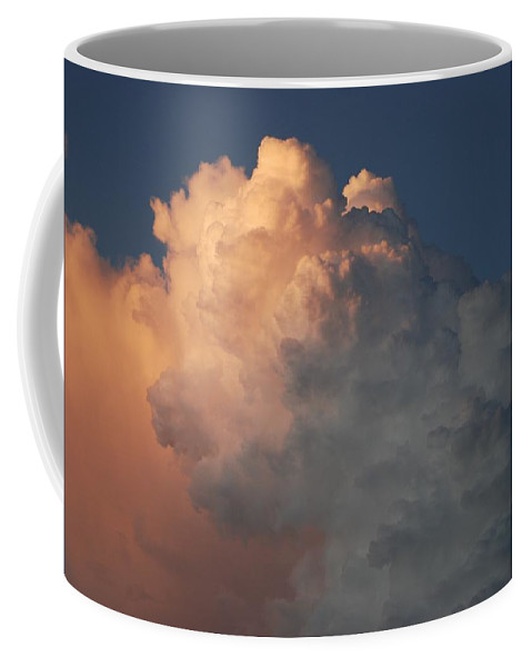 Clouds Coffee Mug featuring the photograph Salmon Sky by Rob Hans