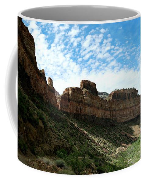 Canyon Coffee Mug featuring the photograph Salt River Canyon Arizona by Jeff Swan