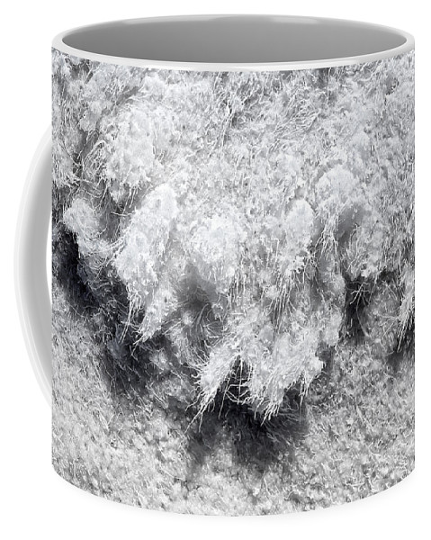 Salt Formations Coffee Mug featuring the photograph Salty by Kelley King