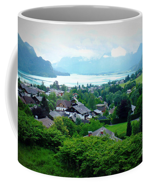 Austria Coffee Mug featuring the photograph Salzburg Lake District by Carol Groenen
