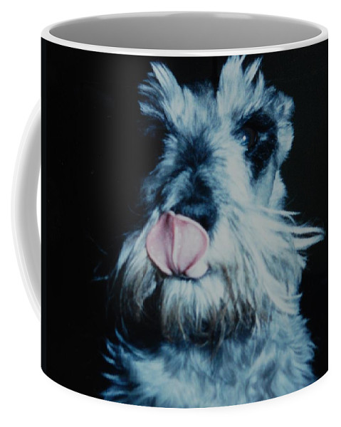 Dogs Coffee Mug featuring the photograph Sam The Fat Cow by Rob Hans