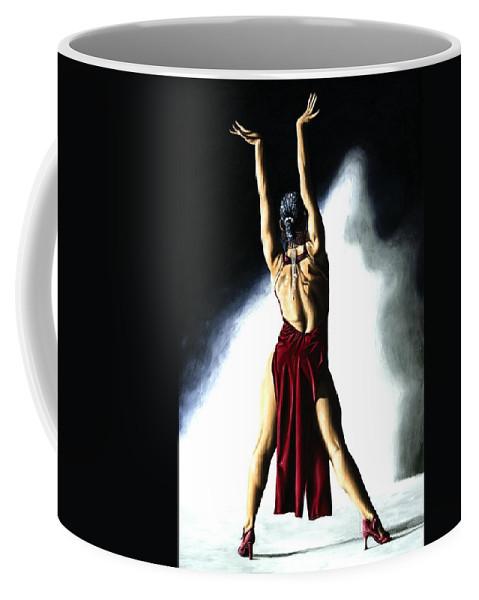 Samba Coffee Mug featuring the painting Samba Celebration by Richard Young
