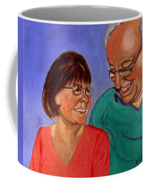 Relationships Coffee Mug featuring the painting Samson and Delia by Rusty Gladdish