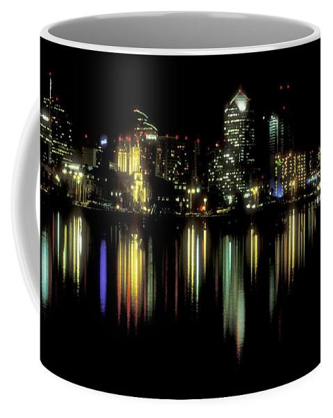 San Diego Skyline Coffee Mug featuring the photograph San Diego Skyline by Sandra Bronstein
