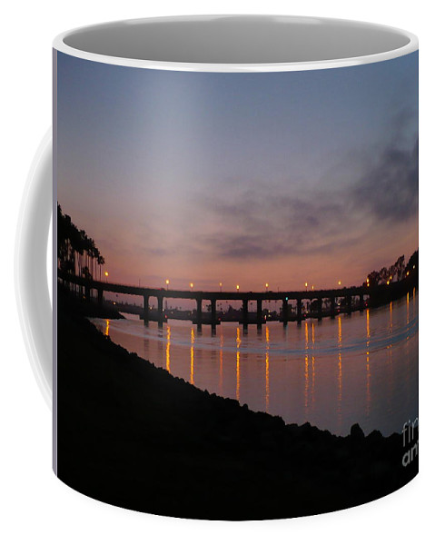 San Diego Coffee Mug featuring the photograph San Diego Sunset 1 by Carol Groenen