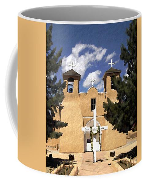 San Francisco De Asis Coffee Mug featuring the photograph San Francisco De Asis by Kurt Van Wagner