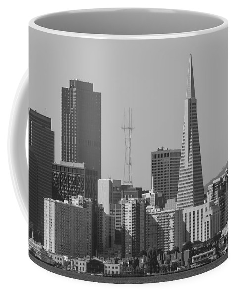 City Coffee Mug featuring the photograph San Francisco From Treasure Island by Bruce Frye