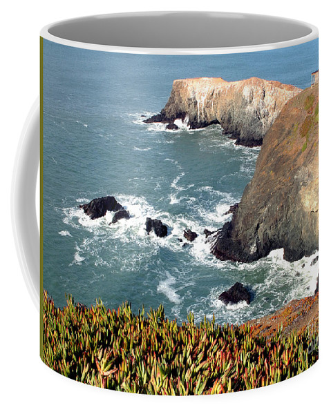 San Francisco Coffee Mug featuring the photograph Marin Headlands Bunker by Norman Andrus
