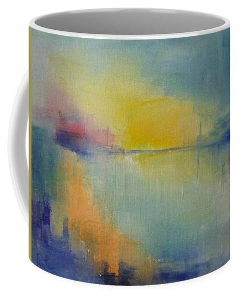 Landscape Coffee Mug featuring the painting San Francisco by Pusita Gibbs