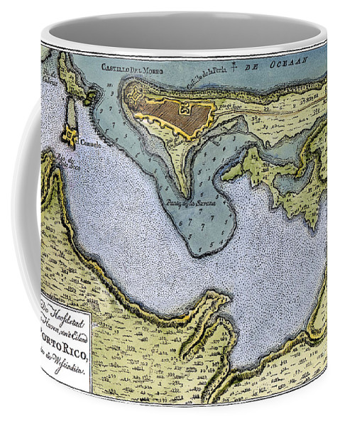 1766 Coffee Mug featuring the photograph San Juan, Puerto Rico by Granger