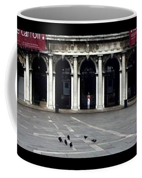 Venice Coffee Mug featuring the photograph San Marco Venice by Charles Stuart