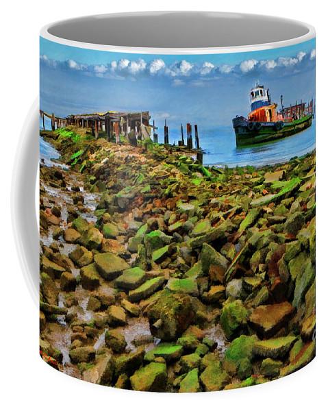 Pablo Bay Coffee Mug featuring the photograph San Pablo Bay California by Blake Richards