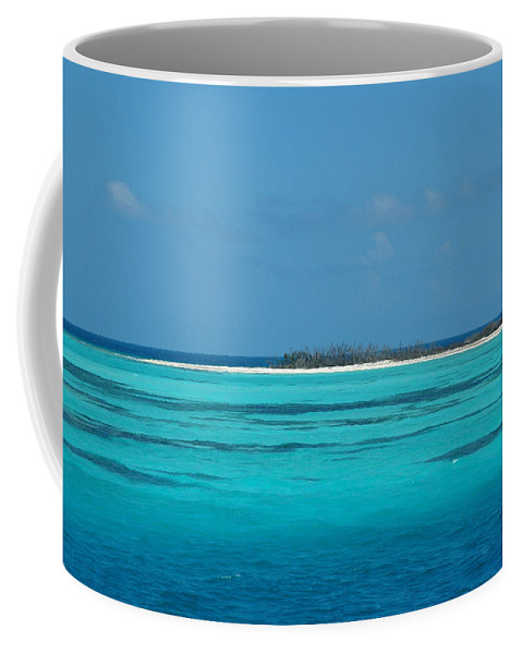 Sand Bar Island Coffee Mug featuring the photograph Sand Bar Island by Susanne Van Hulst