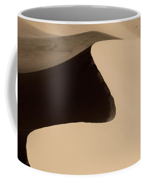 Sand Coffee Mug featuring the photograph Sand by Chad Dutson