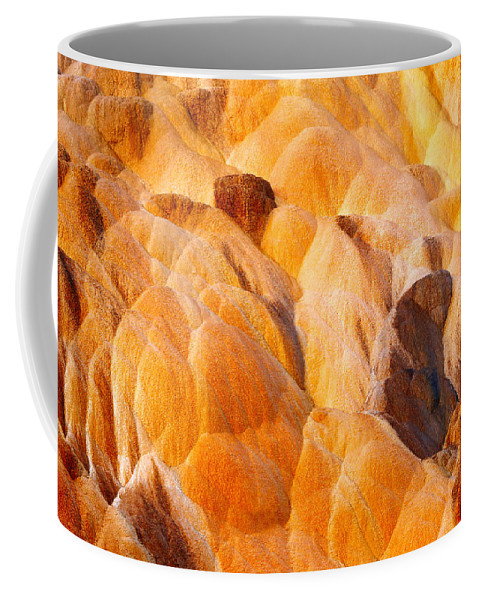 Sand Coffee Mug featuring the photograph Sand Sculpture by Todd Klassy
