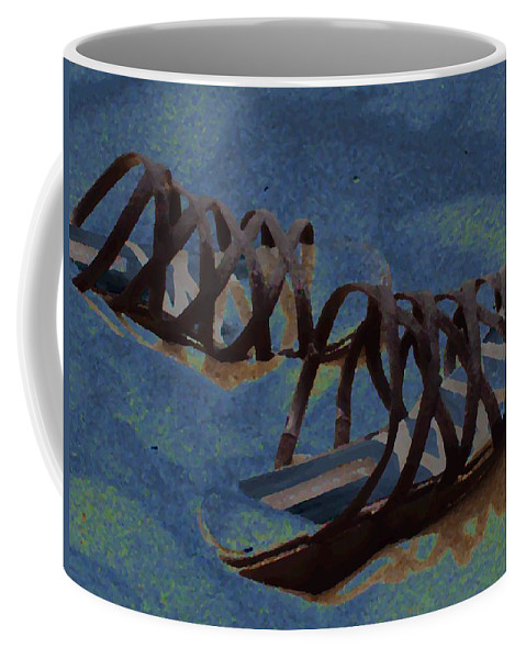 Shoes Coffee Mug featuring the photograph Sand Shoes II by Deborah Crew-Johnson