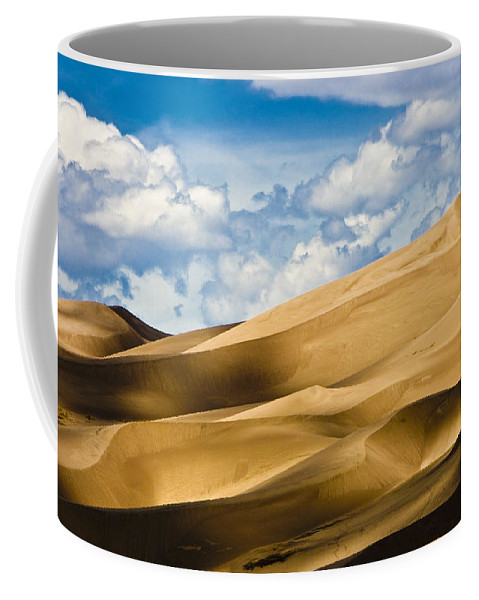 Sand Coffee Mug featuring the photograph Sands Of Time by Ches Black