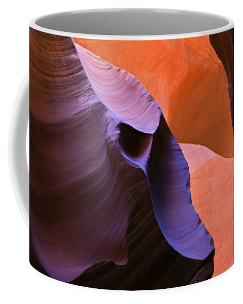 Sandstone Coffee Mug featuring the photograph Sandstone Apparition by Mike Dawson