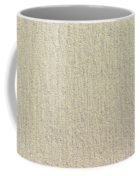Abstract Coffee Mug featuring the photograph Sandy Beach Detail Lined Texture Background by Ingela Christina Rahm