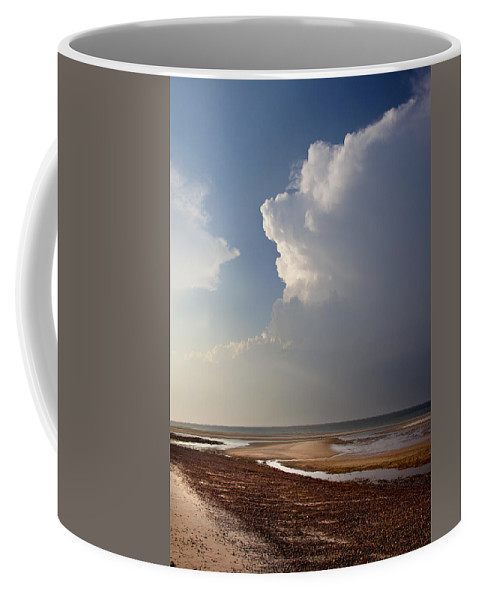 Sandy Neck Coffee Mug featuring the photograph Sandy Neck Beach by Charles Harden