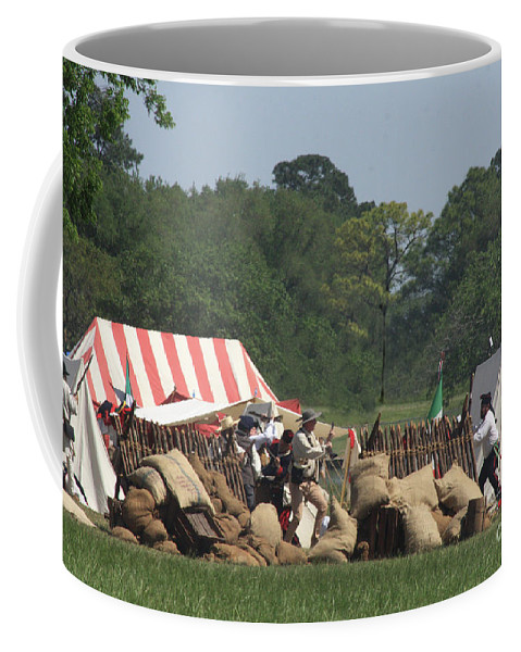 Battle At San Jacinto Coffee Mug featuring the photograph Santa Anna's Camp by Kim Henderson