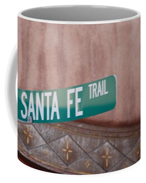 Santa Fe Coffee Mug featuring the photograph Santa Fe Trail by Rob Hans