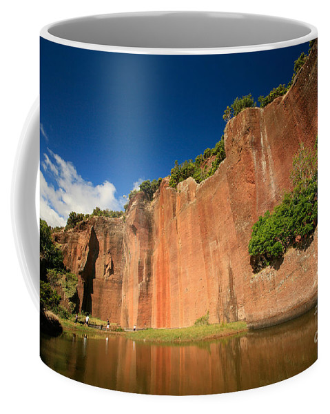 Walls Coffee Mug featuring the photograph Santa Maria Azores by Gaspar Avila